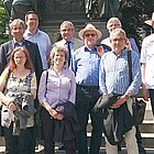 Gruppenfoto am Lutherdenkmal