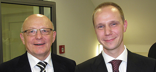 Günter Muth (links) und Christian M. Beck