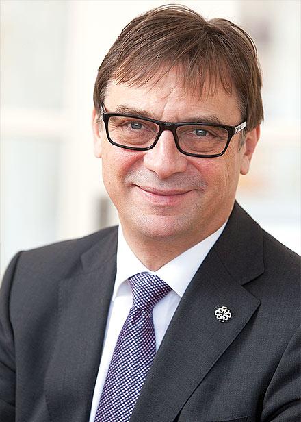 Dr. Volker Jung, Kirchenpräsident der Evangelischen Kirche in Hessen und Nassau